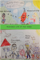 #1321 Miserable Life of Four Wimps