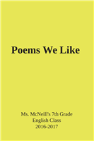 #1534 Poems We LIke