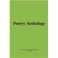 #1524 Poetry Anthology