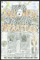#1645 Halloween Personal Narratives 2017